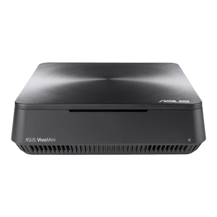 UNITÉ CENTRALE + ÉCRAN ASUS VivoMini VM45 Mini PC 1 x Celeron 3865U - 1.8