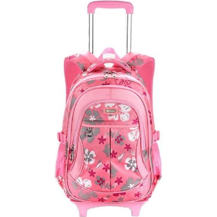 check-out 880a8 28b08 Sac ecole a roulette fille