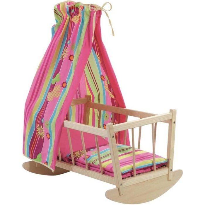 lit poupee bois achat vente jeux et jouets pas chers. Black Bedroom Furniture Sets. Home Design Ideas