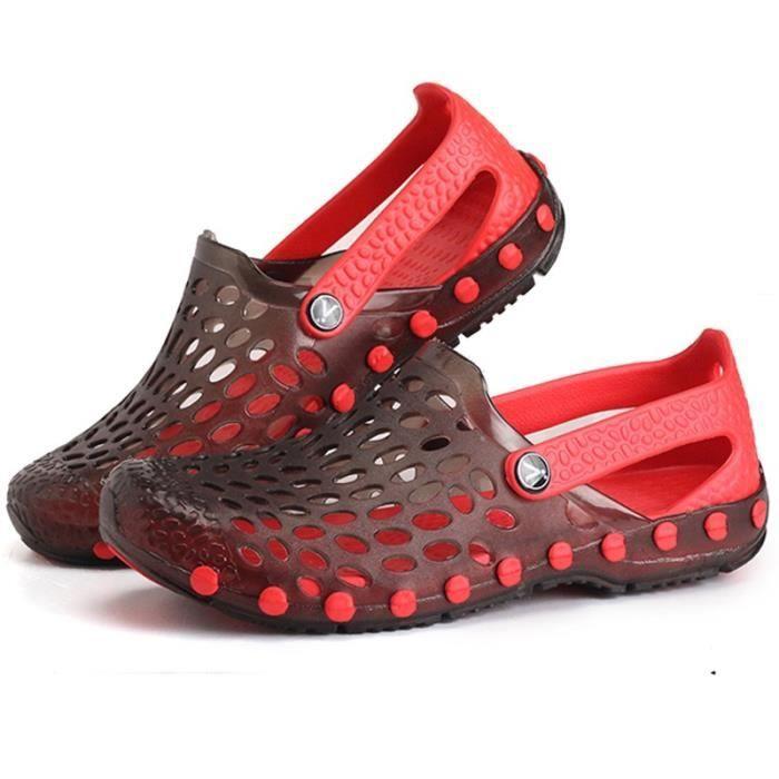 Chaussures Mode homme colorés confortable Skid-résistance Sandales Rétro