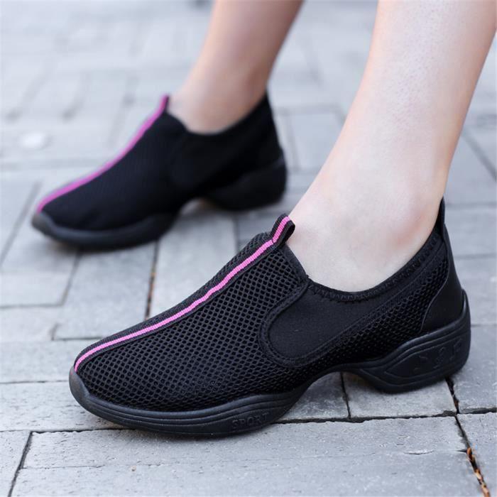 Femme À Résistantes Antidérapant Slipon Basket Chaussures Taille L'usure Personnalité 2018 Durable Grande Sneakers Été 1uTJlFKc3