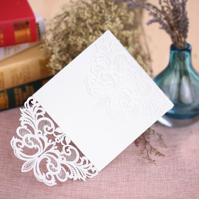 carte d invitation mariage achat vente carte d invitation mariage pas cher cdiscount. Black Bedroom Furniture Sets. Home Design Ideas