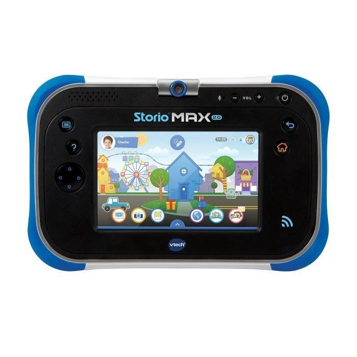 """JEU CONSOLE ÉDUCATIVE VTECH Tablette Storio Max 2.0 5"""" Bleue"""