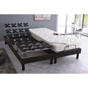 pied pour sommier a latte cadre metallique achat vente. Black Bedroom Furniture Sets. Home Design Ideas
