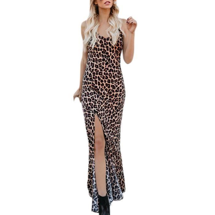 Unie Lady Fashion Mi En Vrac Dentelle Couleur S Sans cou Summer longue 2924 V Robe Manches v5wd5q7