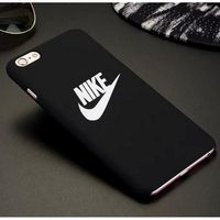 coque iphone 6 silicone nike rose