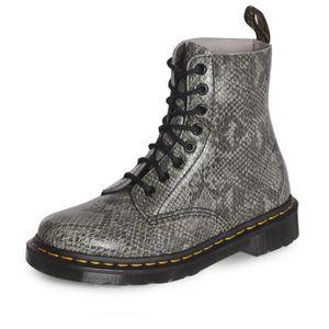 DR. MARTENS Bottines Pascal Chaussures Femme Gris clair femme Gris ... 9a38c59c0db0
