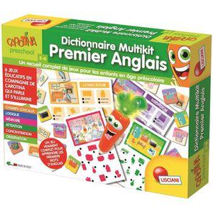 LUCIANI Dictionnaire Multikit Carotte magique Premier anglais