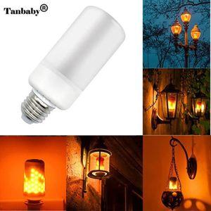 AMPOULE - LED E27 Ampoule LED Ampoule Clignotante Effet Flamme L