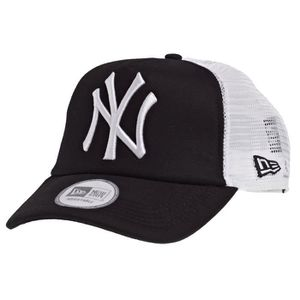 CASQUETTE New Era Trucker Casquette - New York Yankees noir e69b3263b475