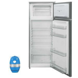 RÉFRIGÉRATEUR CLASSIQUE SHARP Réfrigérateur frigo double Porte inox 227L A