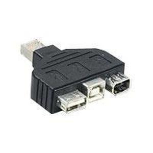 CÂBLE INFORMATIQUE TRENDNET TC-NTUF ADAPTATEUR USB ET FIREWIRE POU…