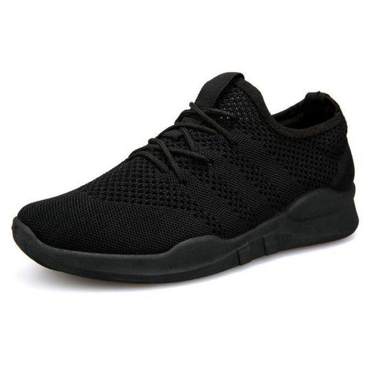 Basket homme ete - Classique Semelle souple chaussures homme ZX-XZ1049 Noir Noir - Achat / Vente basket