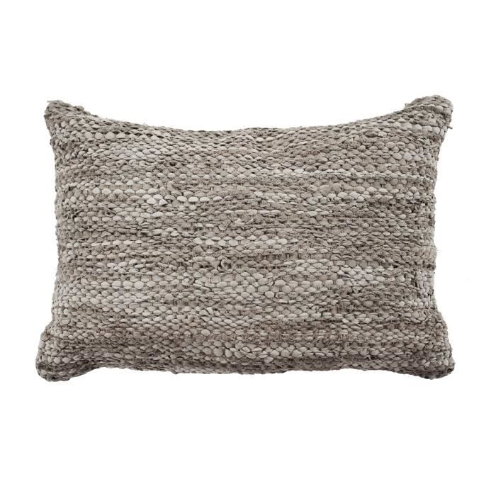 Coussin Skin - 40 x 60 cm - Gris taupe