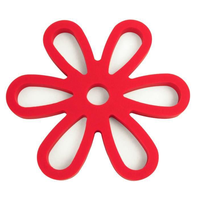 YOKO DESIGN Dessous de plat magnétique rouge