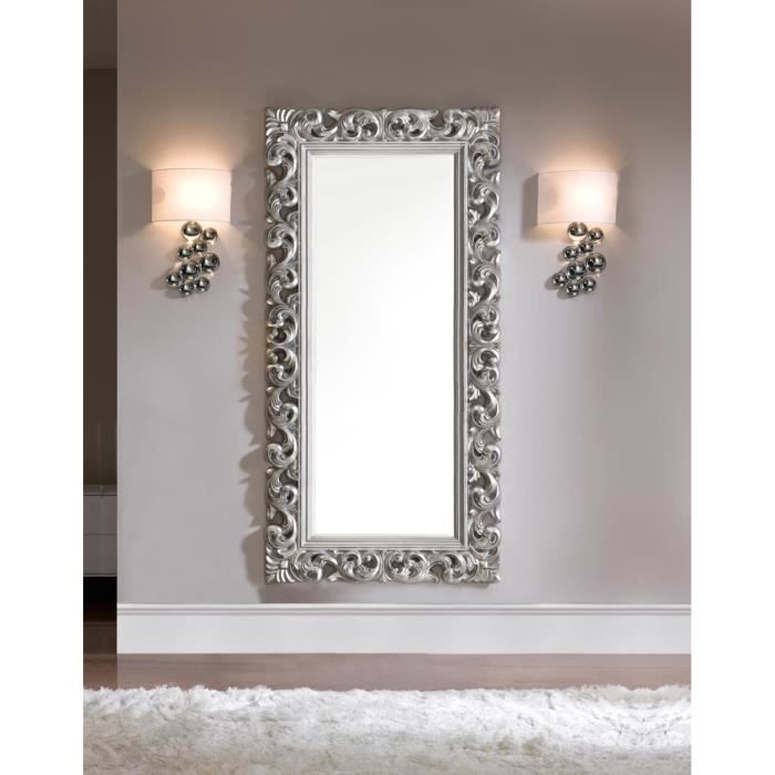 best miroir mural blanc simili cuir strass ideas awesome. Black Bedroom Furniture Sets. Home Design Ideas