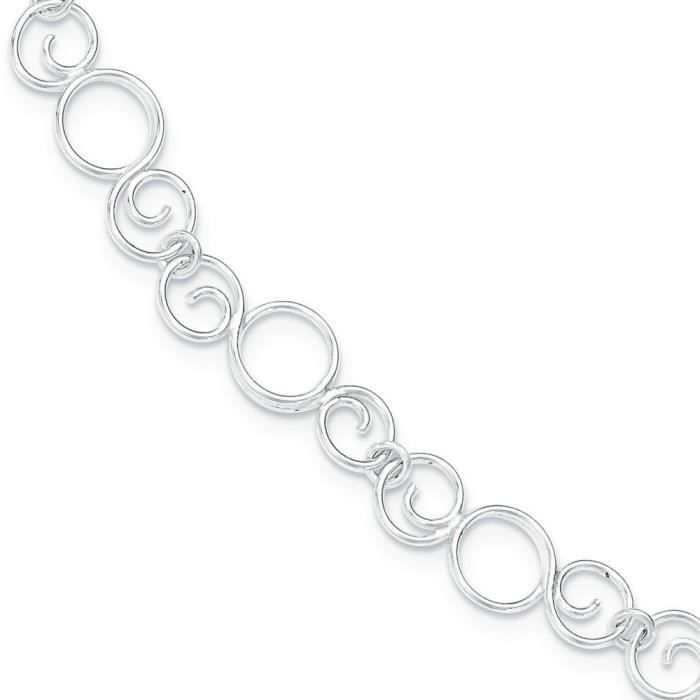 Bracelet en argent Sterling 7,5 cm