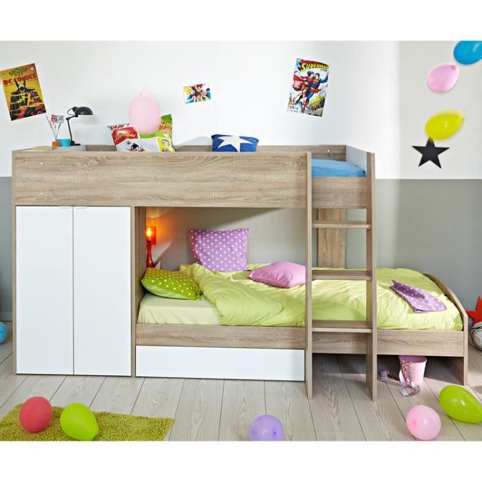 lit superpose rangement. Black Bedroom Furniture Sets. Home Design Ideas