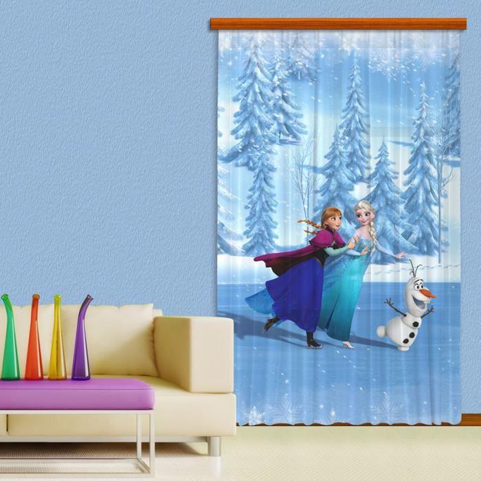 double rideaux reine des neiges - achat / vente double rideaux