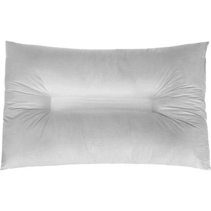 Oreiller Anti-Ronflement Apnée Du Sommeil Polyester 48 x 74 cm
