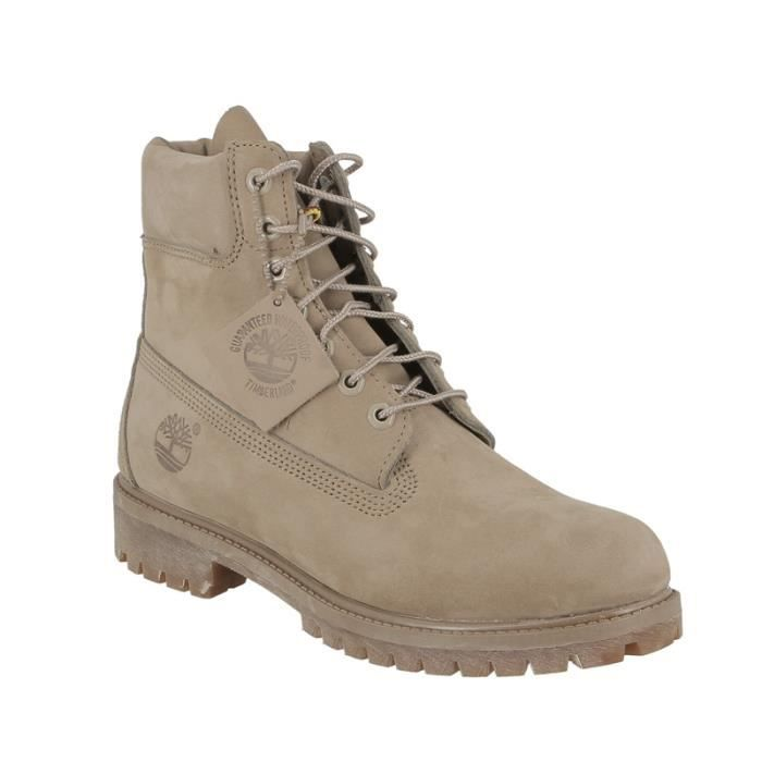 timberland homme beige clair