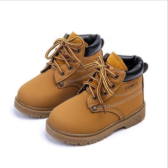 Chaussures enfants Haut qualité Boots enfants New Mode rous d'aération pour la Respirabilité Confortable Chaussures de sport