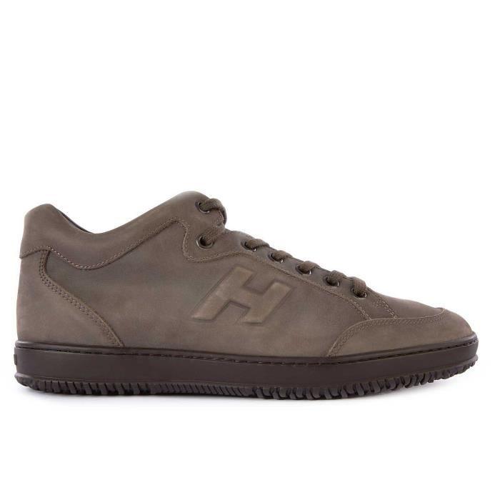 Chaussures baskets sneakers homme en cuir h168 Hogan