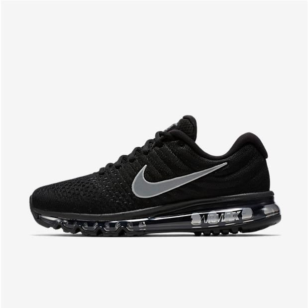 check out d9027 d2e23 NIKE Basket Femme Air Max 2017 - Toile - Noir