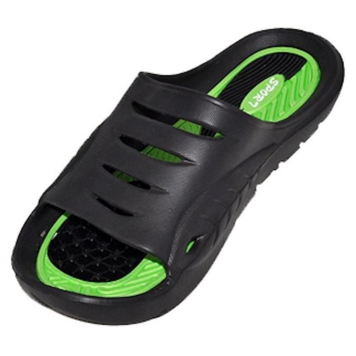 Cinco caoutchouc Sandal Slipper confortable Douche de plage Slip de chaussure Flip Flop ZVSPM 44 1-2