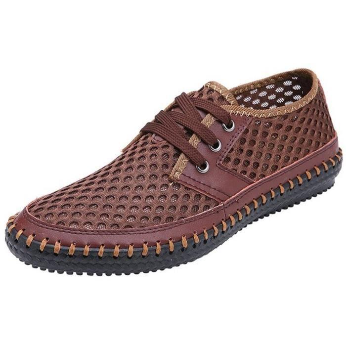 Poseidon Slip-on Mocassins d'eau Casual Chaussures de marche TXMKY Taille-47