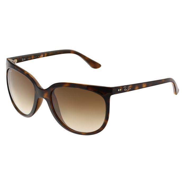 RAY BAN Lunettes de soleil Noir, Marron - Achat   Vente lunettes de ... 72973648ddd2