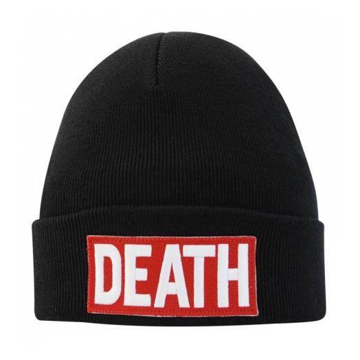 940bb5368952d4 Bonnet UNKUT DEATH Noir Turfu by Booba - Achat   Vente bonnet ...