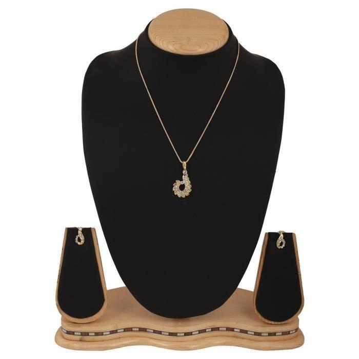 Pendentif femme en or Set Pour &YEQIN