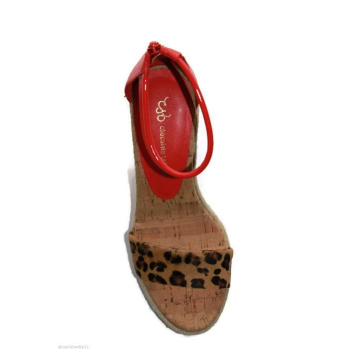 SANDALES CHOCOLATE SCHUBAR MODELE BLISS CORAL