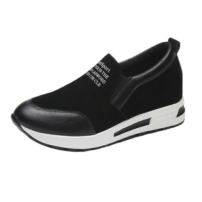 forme Slip Napoulen®mode Plate Populaire xym71107903bk Loisirs On Cales Noir Chaussures 6I1Ernqw1