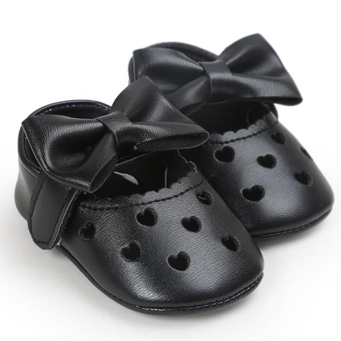 Sneaker chaussures évider Bébé NoirHM chaussures chaussures dérapant Bowknot Casual anti BOTTE souples fille 0fvwqxxp