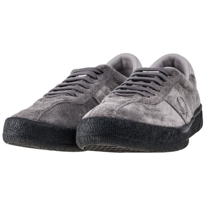 Fred Perry B1 Tennis Shoe Hommes Baskets gris - 10 UK