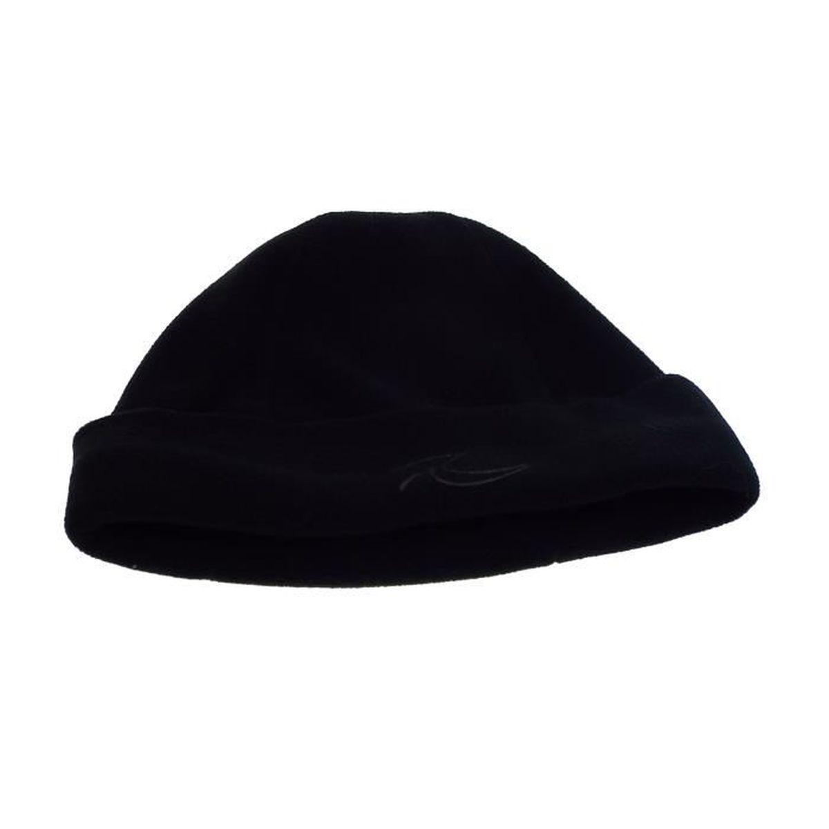 ac91dd8c80f Bonnet enfant - polaire - taille unique - noir - 100 %polyester ...