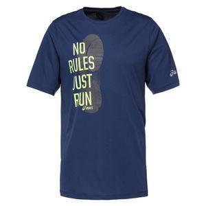 MAILLOT DE RUNNING ASICS T-shirt de running manches courtes - Homme -