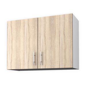 ELEMENTS BAS OBI Meuble haut de cuisine L 80 cm - Décor chêne c