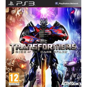 JEU PS3 Transformers: Rise Of The Dark Spark PS3
