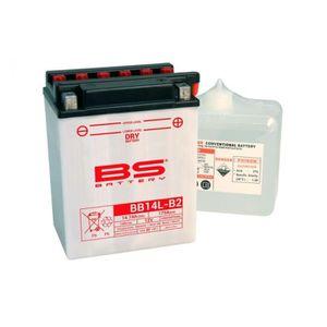 BATTERIE VÉHICULE Batterie BS BATTERY BB14L-A2 conventionnelle livré
