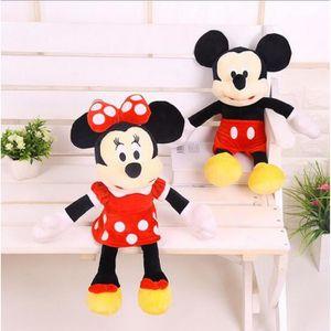PELUCHE 1 Belle De 40cm Pcs Mickey Mouse Et Les Souris Min