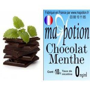 LIQUIDE E-Liquide Saveur Chocolat Menthe, Eliquide Françai