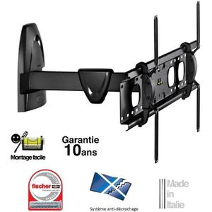 FIXATION - SUPPORT TV MELICONI R-800 Support TV mural orientable 50-80