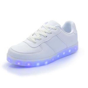 ESPADRILLE Mode Chaussures lumineux LED Colorful Lovers USB R