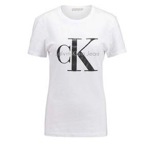 T-shirt Calvin klein femme - Achat   Vente T-shirt Calvin klein ... 2aa7c699b07