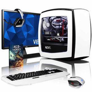 UNITÉ CENTRALE + ÉCRAN VIBOX Atom GL760-329 PC Gamer Ordinateur avec Jeu