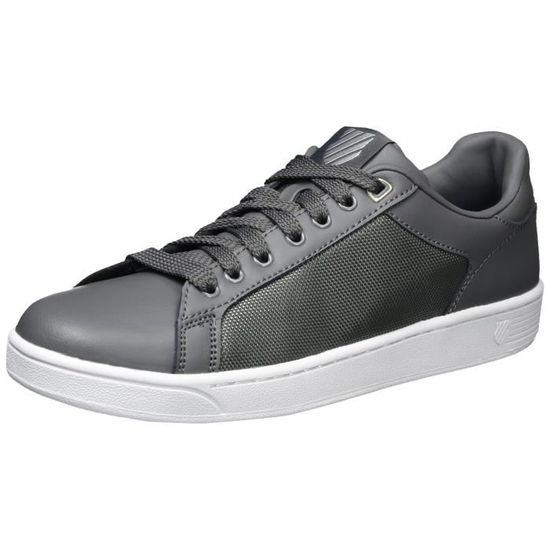 Clean Taille-43 Court Sneaker Fashion CXY2G Taille-43 Clean Gris Gris -  Achat 7dbecede1f32