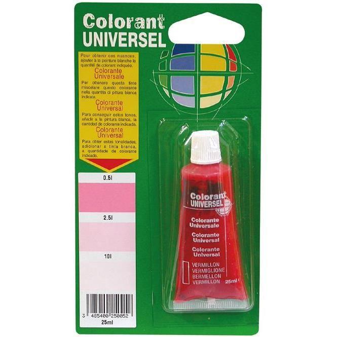 Colorant - vermillon - 25 mL